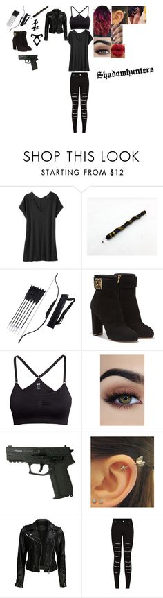 """""""Shadowhunters"""" by amelie-golberg on Polyvore featuring beauty, Athleta, Stele, Rune NYC, Salvatore Ferragamo, H&M, VIPARO and ASAP"""