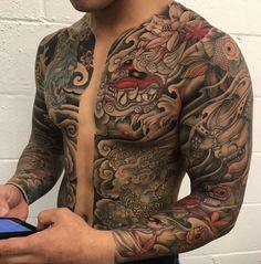 125 Best Japanese Tattoos For Men: Cool Designs, Ideas & Meaning .- 125 Best Japanese Tattoos For Men: Cool Designs, Ideas & Meanings 2020 – Japanese Full Body Tattoo – Best Japanese Tattoos For Men: Cool Tattoo – # Meanings Japanese Tattoo Meanings, Japanese Tattoos For Men, Traditional Japanese Tattoos, Japanese Tattoo Designs, Japanese Tattoo Art, Japanese Sleeve Tattoos, Sleeve Tattoos For Women, Tattoo Designs Men, Tattoos For Guys