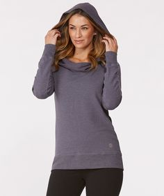 Look what I found on #zulily! Balance Collection Heather Nine Iron Thermal Cowl Neck Pullover by Balance Collection #zulilyfinds