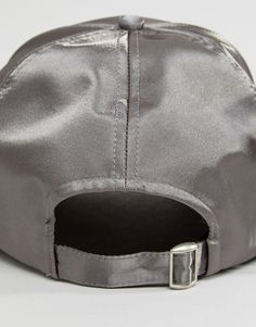 ae692a8fb48 Image 2 of ASOS Satin Baseball Cap Bag Organization