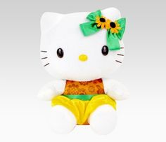 "Hello Kitty 9"" Plush: Sunflower  #SephoraHelloKitty"