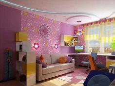 diseño dormitorios niñas