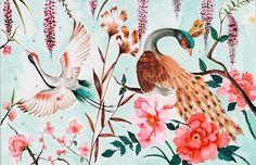 Saraconache (@saraconache) • Fotos y videos de Instagram Rooster, Watercolor, Instagram, Animals, Hibiscus, Pen And Wash, Watercolor Painting, Animales, Animaux