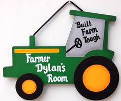 911 crafts for toddlers Boys - Tractor