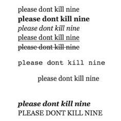 Please don't kill nine ~ Lorien Legacies ~ THE FEELS!!!