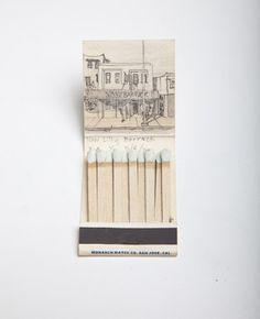 Krista Charles | matchbox drawings