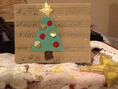 Each card you order is an original that is handmade partly with recycled materials.