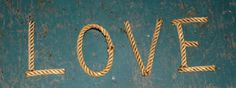 Alphabet Letters Rope Letters MADE TO ORDER by AlaskaRugCompany, $3.00 These are soooo great
