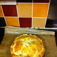 Meat Dish: Sausage meat and veg pie