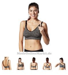 #Medela #Damen #Schwangerschafts #BH #Body #Silk #Seamless #Yoga #Bra #Grau # #8211 #Grey #Charcoal #Heather # #Small #7655510