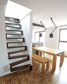 And You Donu0027t Like Open Back Stairs Imagine This! You Gotta Be Kidding Me,  Like These Are Safe! | Sonya? | Pinterest | Staircases, Modern Staircase  And ...