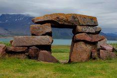 Ruins of Garðar, site of the Greenland Viking settlement's court