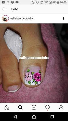 Pretty Toe Nails, Pretty Toes, Gel Toes, Gel Nails, Summer Holiday Nails, Nail Patterns, Toe Nail Designs, Toe Nail Art, Pencil Portrait