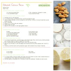 Kneaders Almond Citrus Bars. #Kneaders