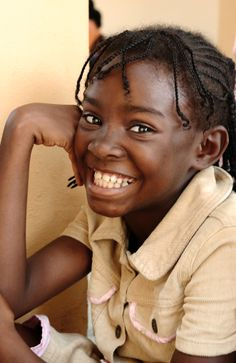Smile for me! Ngouoni girl in Gabon Africa