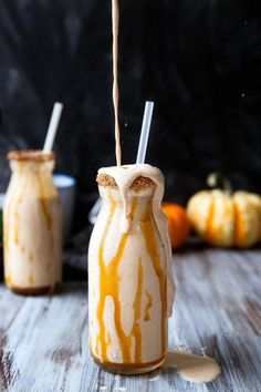 This Festive Shake is the Perfect Way to Celebrate Autumn #halloween trendhunter.com