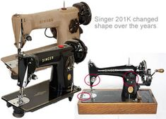 Dating a vintage or antique sewing machine, How old is it..? - Find sewing machine model number from serial number