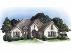 eplans french country house plan four bedroom french country 2366 square feet and 4
