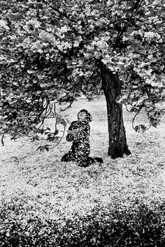 By Robert Doisneau Robert Doisneau, Fondation Cartier, Poesia Visual, Become A Photographer, Gelatin Silver Print, French Photographers, Cherry Tree, Photojournalism, Belle Photo