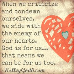 God has defeated our enemies, given us victory, and made us more than conquerors. #CoffeeForYourHeart http://holleygerth.com