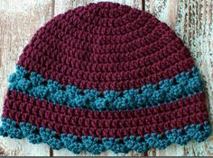 Pretty Women's Crochet Hat Pattern