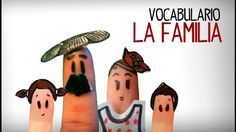 La familia en español, aprender vocabulario español