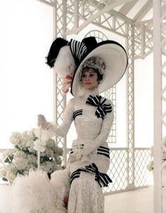 Photo of Audrey as Eliza Doolittle for fans of Audrey Hepburn.