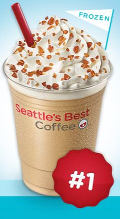 FACEBOOK COUPON $$ FREE Small Frozen Caramel Candy Latte from Seattle's Best Coffee!