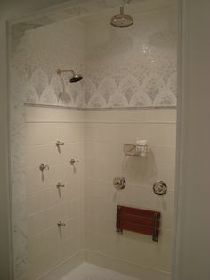 Shower Display In The Miami Showroom. Beach BathroomsWaterworksShowroomMiami