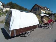 minimal living – The Hermit Crab Diy Camper Trailer, Bike Trailer, Tent Trailers, Electric Tricycle, Bus Living, Trailer Plans, Minimal Living, Pedal Cars, Custom Bikes
