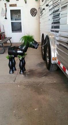 Flower Pot horse