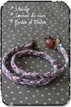 Angel Mélie - Page 4 - Angel Mélie Scarf Jewelry, Textile Jewelry, Fabric Jewelry, Bracelets Liberty, Fabric Bracelets, Handmade Accessories, Handmade Jewelry, Teen Jewelry, Diy Wardrobe