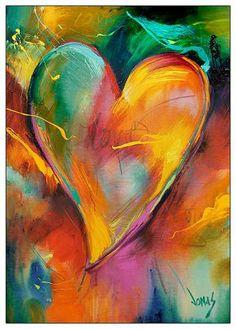 """""""Holding back feelings is the beginning of separation. - """"Holding back feelings is the beginning of separation. Heart In Nature, Heart Art, Kunstjournal Inspiration, Arte Online, Watercolor Heart, Heart Painting, I Love Heart, Sacred Heart, Whimsical Art"""