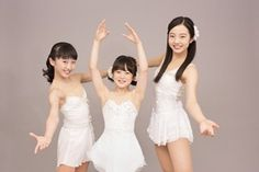 Miku, Kiki and Anastasia School Girl Japan, Family Picture Poses, Beautiful Athletes, Ice Skating Dresses, Cute Young Girl, Beautiful Asian Women, Dance Outfits, Sport Girl, Japanese Girl