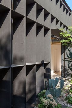 Baffle House by Clare Cousins Architects is a compact addition to an otherwise unassuming Edwardian cottage in Melbourne. Australian Architecture, Minimalist Architecture, Modern Architecture House, Modern Buildings, Architecture Details, Interior Architecture, Clare Cousins, New Modern House, Garden Pavilion