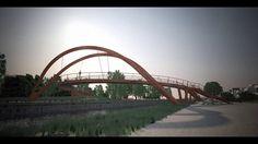 Architects: Spielmann Architecte Competition: Passerelle des Carrière Blanches 2013 Dijon