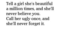 There is no ugly lady .. We are beautiful
