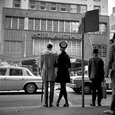 Hotel Australia Collins St Melbourne 1969 Photo: Angus O'Callaghan
