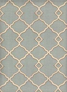 Brios Aqua - www.BeautifulFabric.com - upholstery/drapery fabric - decorator/designer fabric