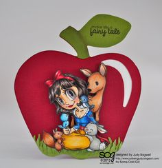 justbeingjudy.blogspot.com #someoddgirl  Snow White from Some Odd Girl