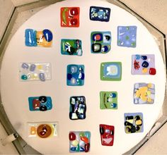 Kim & Karen: 2 Soul Sisters (Art Education Blog): Introductory Fused Glass Ideas