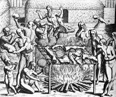El canibalismo es el acto o la práctica de alimentarse de miembros de la propia especie. El término se aplica a cualquier animal, aunque se suele emplear el término caníbal para referirse al ser humano que se alimenta o come a otro ser humano (antropofagia).