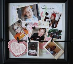 a dash of scrapbooking: celebrating with the everyday display board