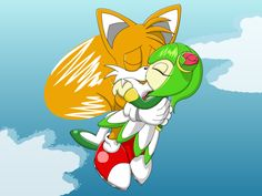 Tails and Cosmo Drawing 2 by DashXFox on DeviantArt