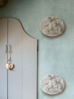 Blue Wallpaper / Blauw Behang collectie Essentially Yours - BN Wallcoverings