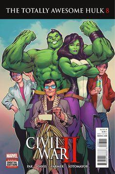 Hulk and She Hulk