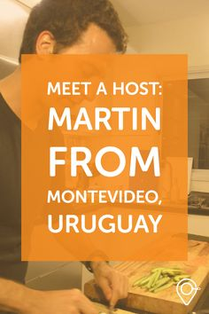 This week's host comes from Montevideo, Uruguay! He's hosting a social cooking experience where foreigners meet locals around local products. I love this concept! #takemecooking #food #travel