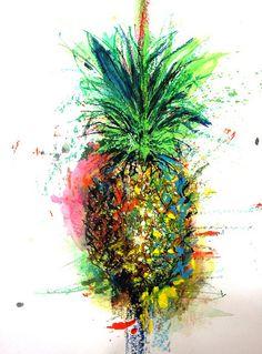 pineapple art | Flickr - Photo Sharing!