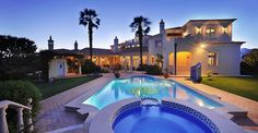 5 bedroom villa for sale in Portugal,Algarve,Quinta Do Lago - Rightmove. Millionaire Homes, Portugal, Mediterranean Architecture, Mega Mansions, Beautiful Villas, Beautiful Pools, Luxury Villa, Resort Spa, Luxury Real Estate