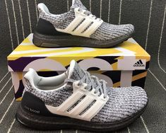 43545efdb adidas Ultra Boost 4.0 Oreo White Grey Two BB6180 For Sale-1